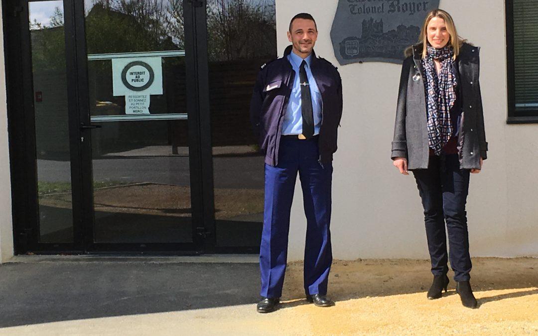 Visite de la Gendarmerie de Saumur