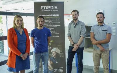 Visite du site Enedis à Saumur