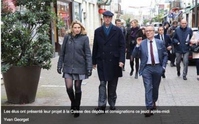 """Saumur labellisée """"Action Cœur de Ville""""."""