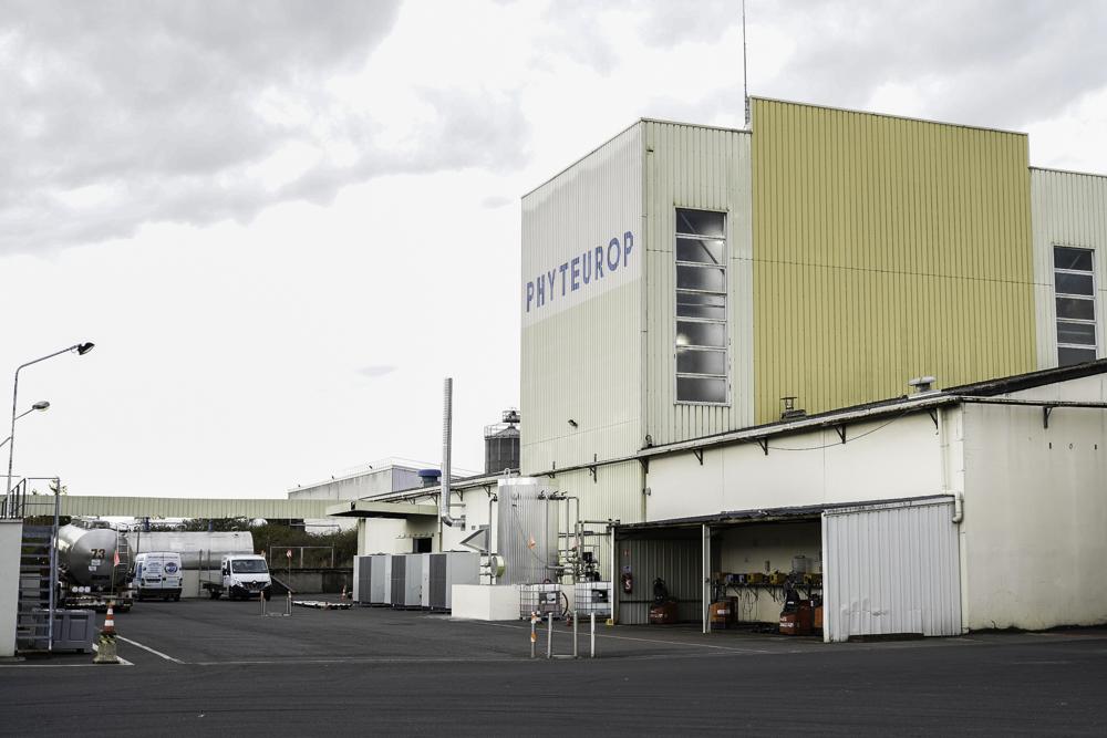 Visite de l'usine PHYTEUROP à Montreuil-Bellay