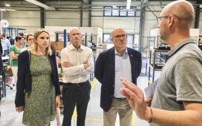 """Saumur labellisé """"Territoire d'Industrie"""" grâce à l'union de tous"""
