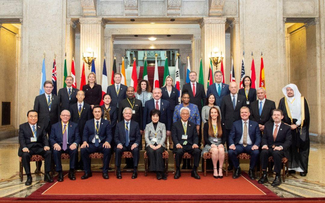 Sommet du G20 parlementaire au Japon