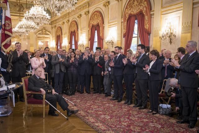 Hommage de l'Assemblée nationale à l'Amiral Philippe de Gaulle