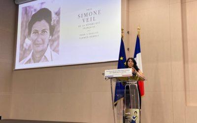 Remise du prix Simone Veil de la République française 2020