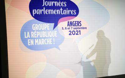Journées Parlementaires du groupe LREM, à Angers