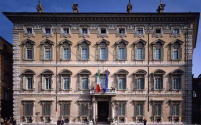 Déplacement à Rome pour le G20 parlementaire, en représentation de Richard Ferrand