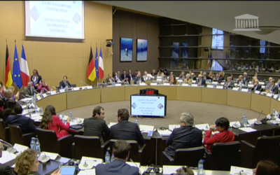 Session inaugurale de l'Assemblée parlementaire franco-allemande