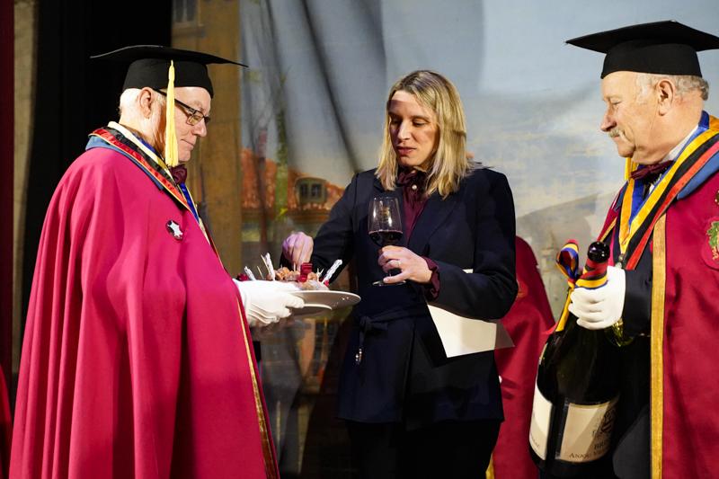 Intronisation dans la Confrérie des Rillauds d'Anjou et des Vins de Brissac