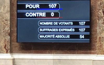 """Adoption à l'unanimité de l'extension du dispositif """"territoire zéro chômeur de longue durée"""""""