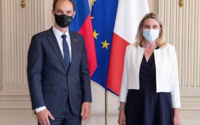 Préparation de la Présidence française du Conseil de l'Union européenne.