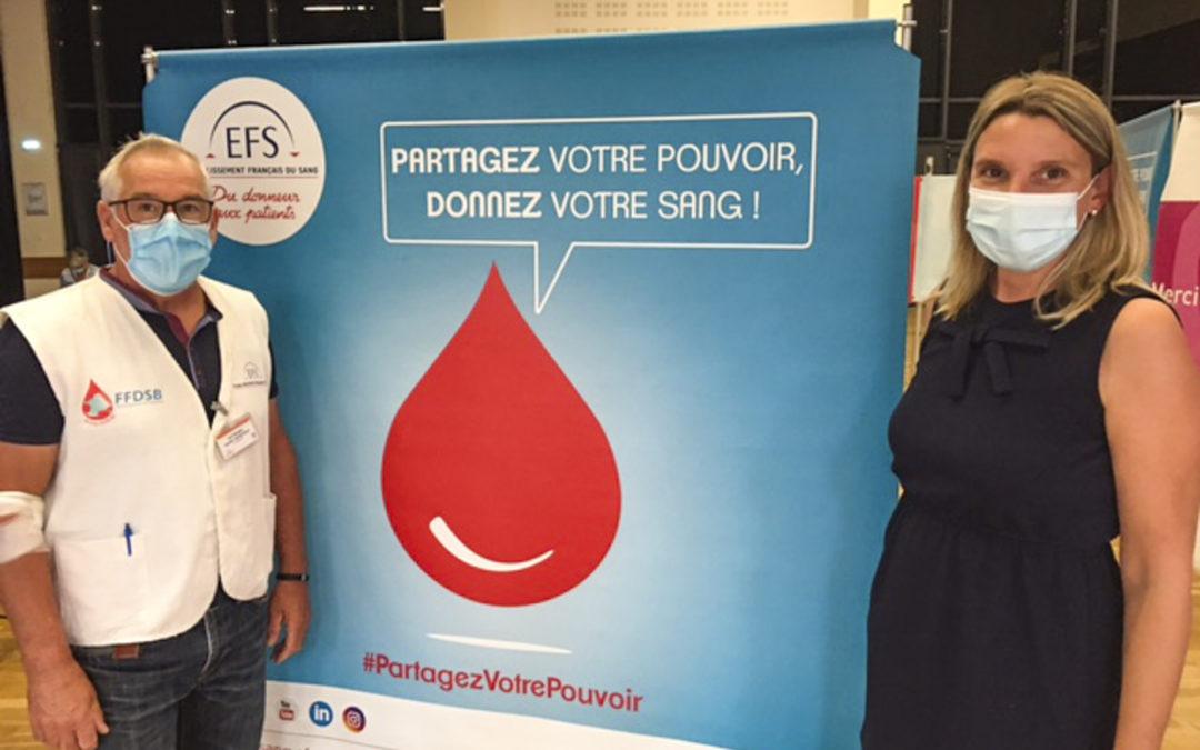 Don du sang à Montreuil-Bellay