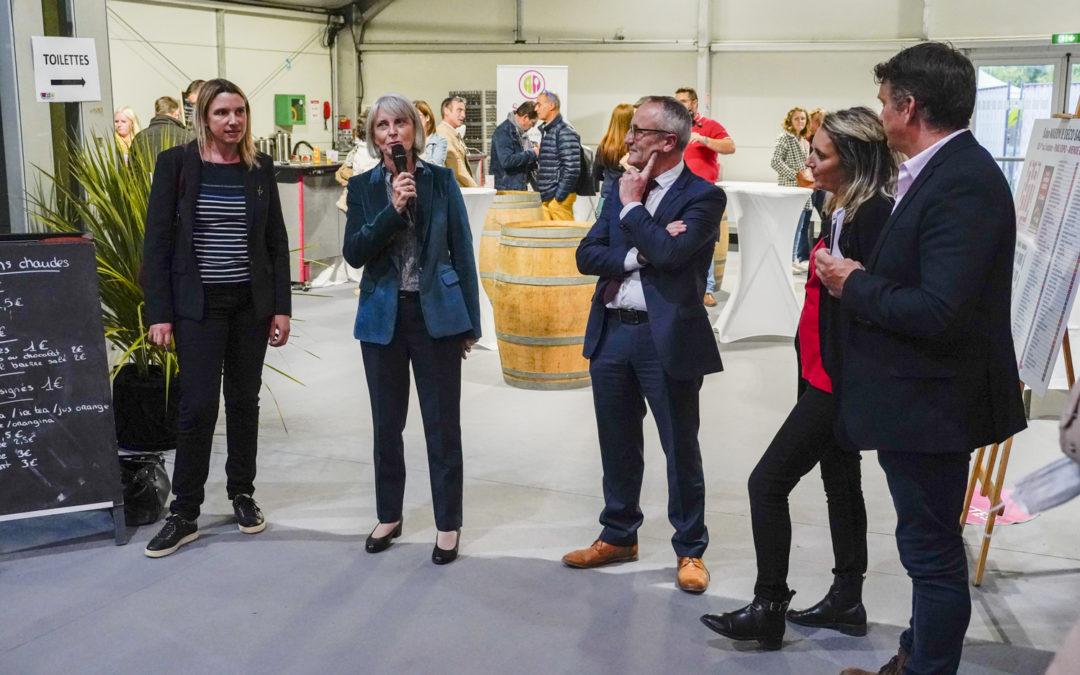 """Visite au parc exposition du Breil pour l'inauguration du salon """"Maison & Déco"""""""